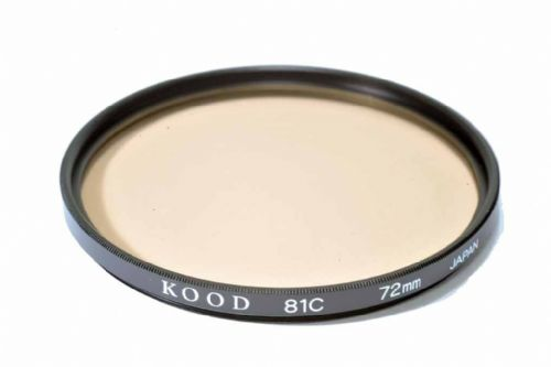 High Quality Optical Glass 81C Filter Made in Japan 72mm Kood